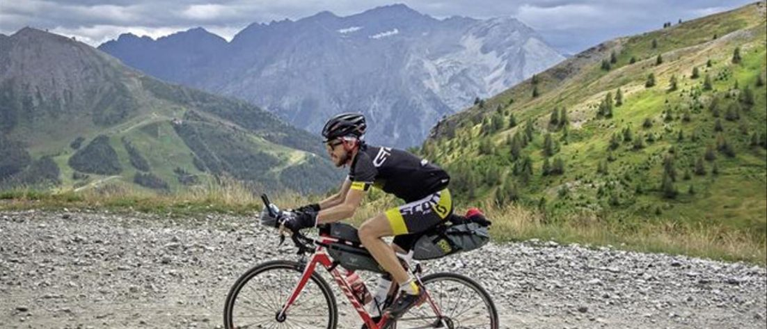 Alain Rumpf, gravel bike, gravel, bikepacking