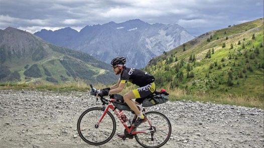 Alain Rumpf, gravel bike, gravel, bikepacking
