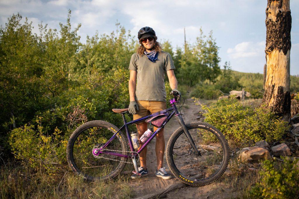 Joe Grant, trail, bikepacking