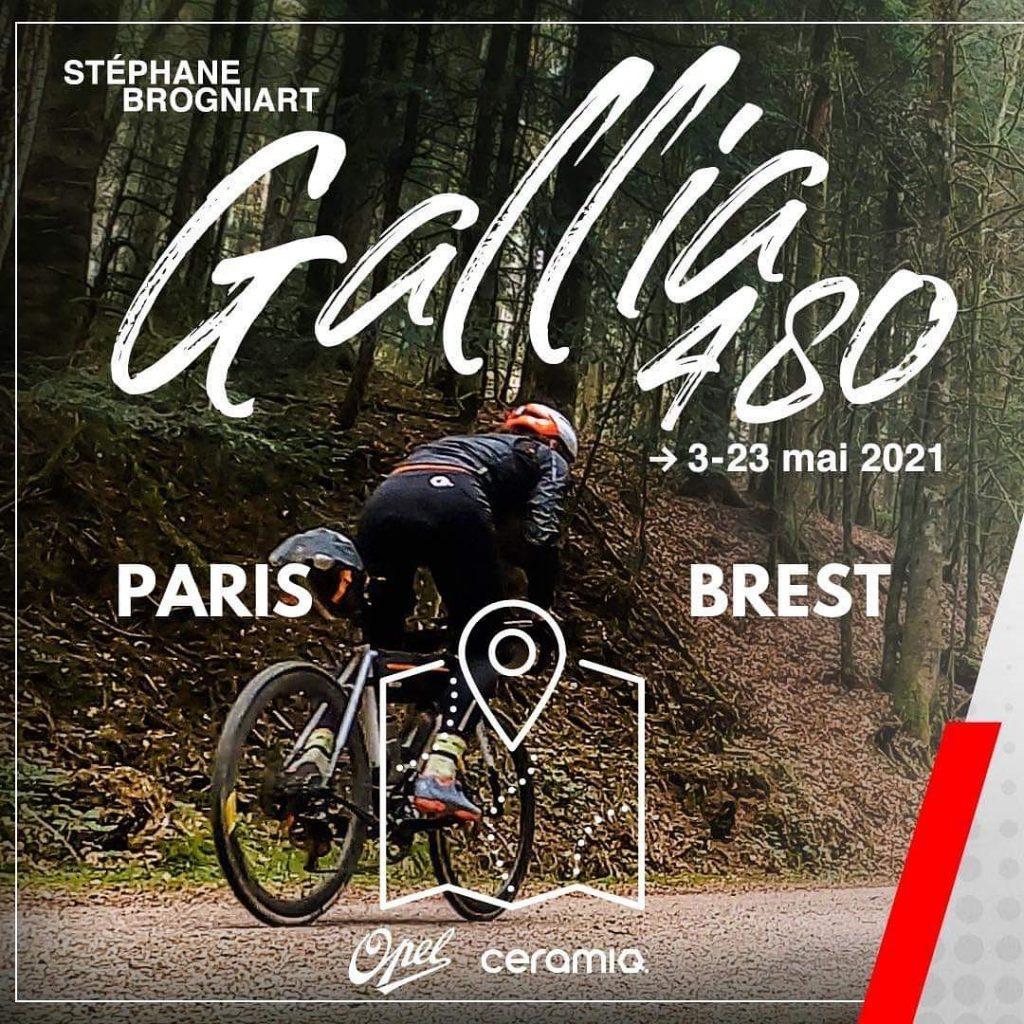 Stéphane Brogniart, Gallia 480 Paris Brest