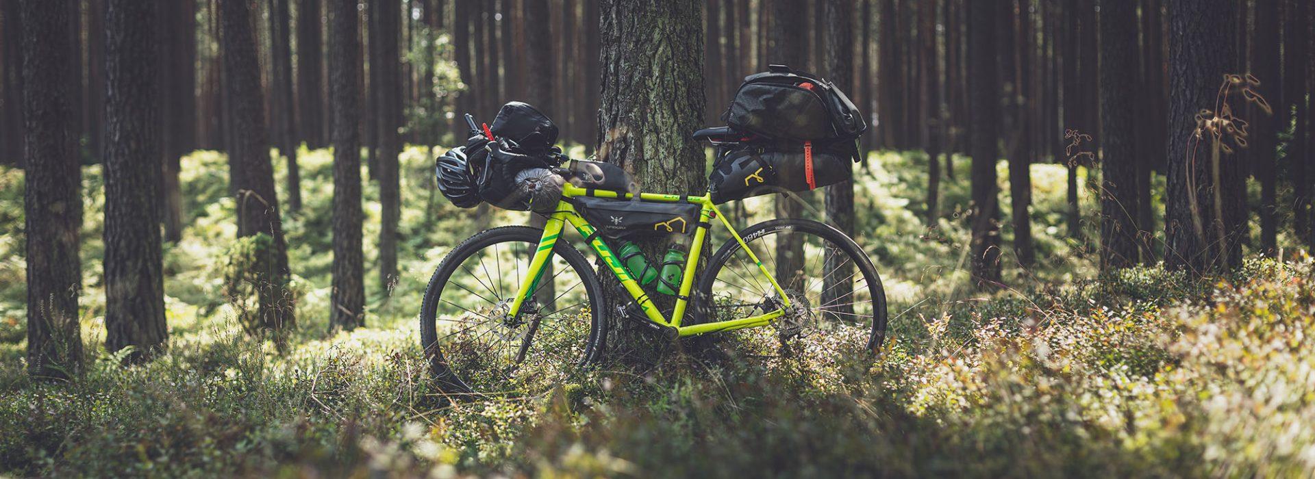 Spotzle, Gravel, Bikepacking, voyage à vélo,