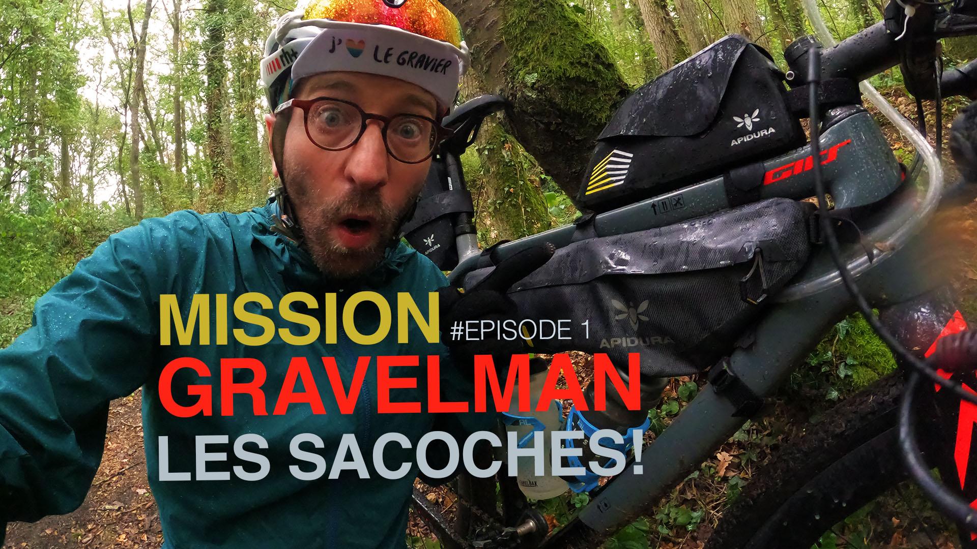 Mission Gravelman : Les sacoches